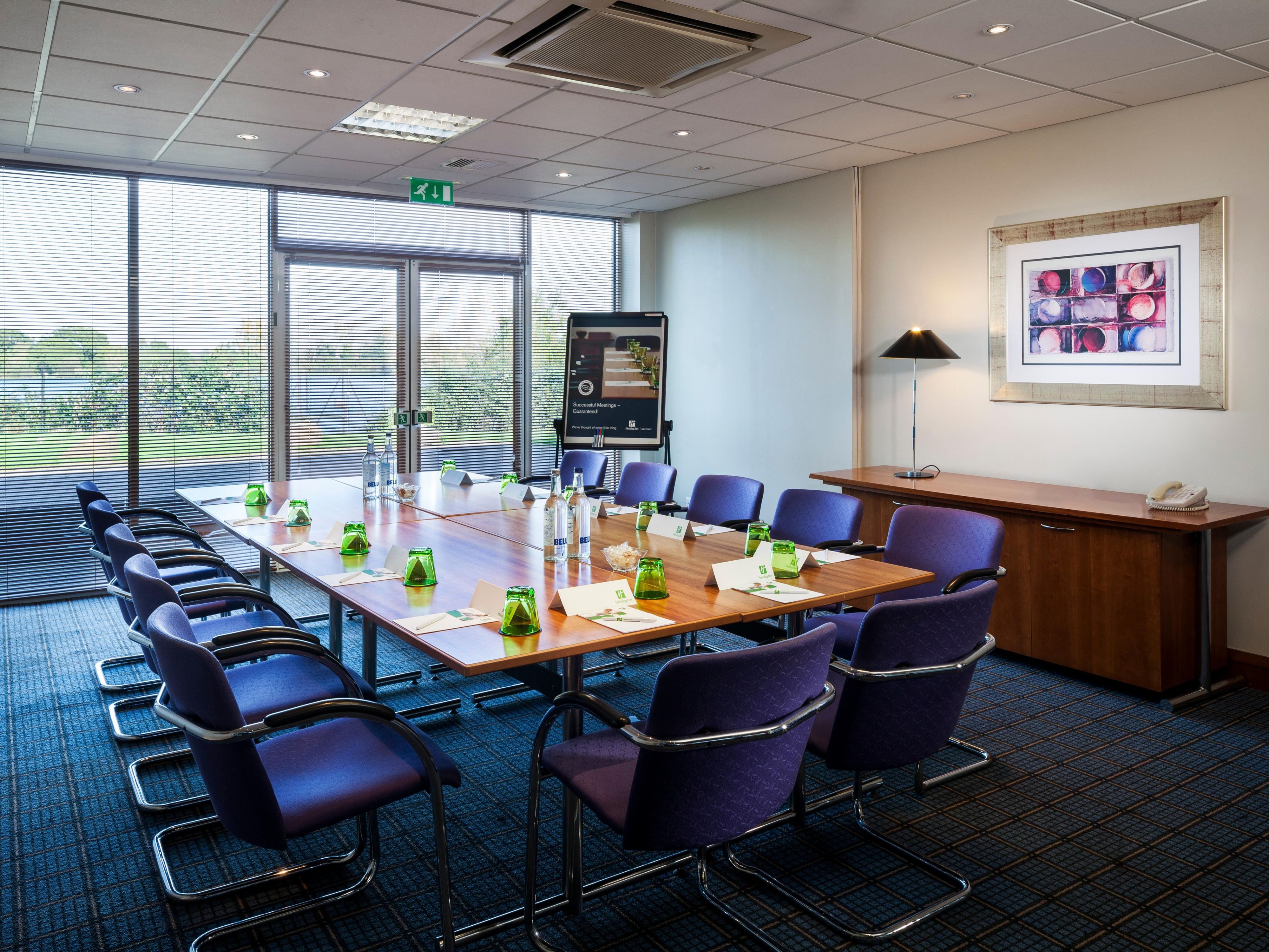 One of our many boardrooms all boasting natural daylight