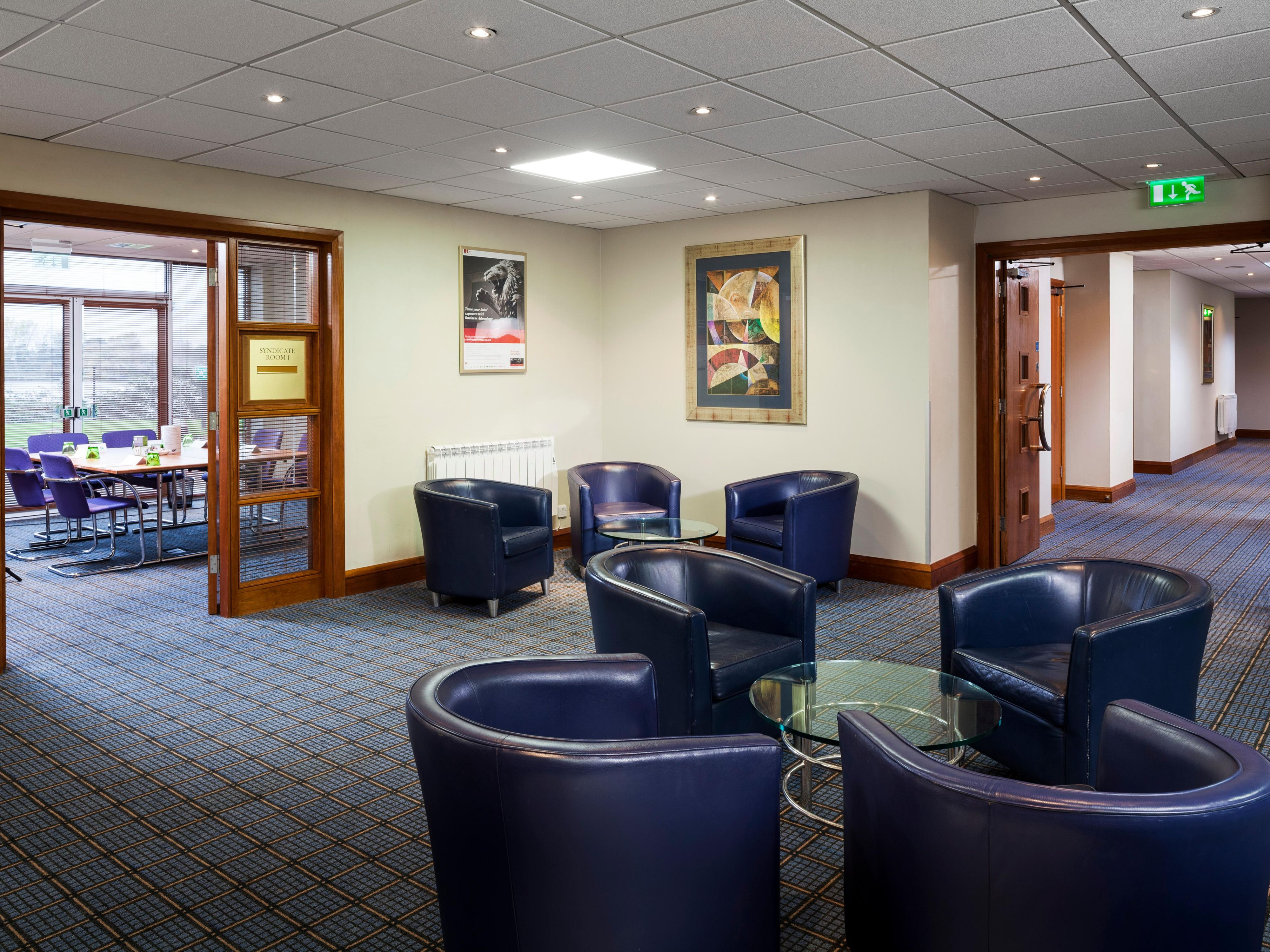 Our Academy breakout area ideal for meetings and buffet lunches
