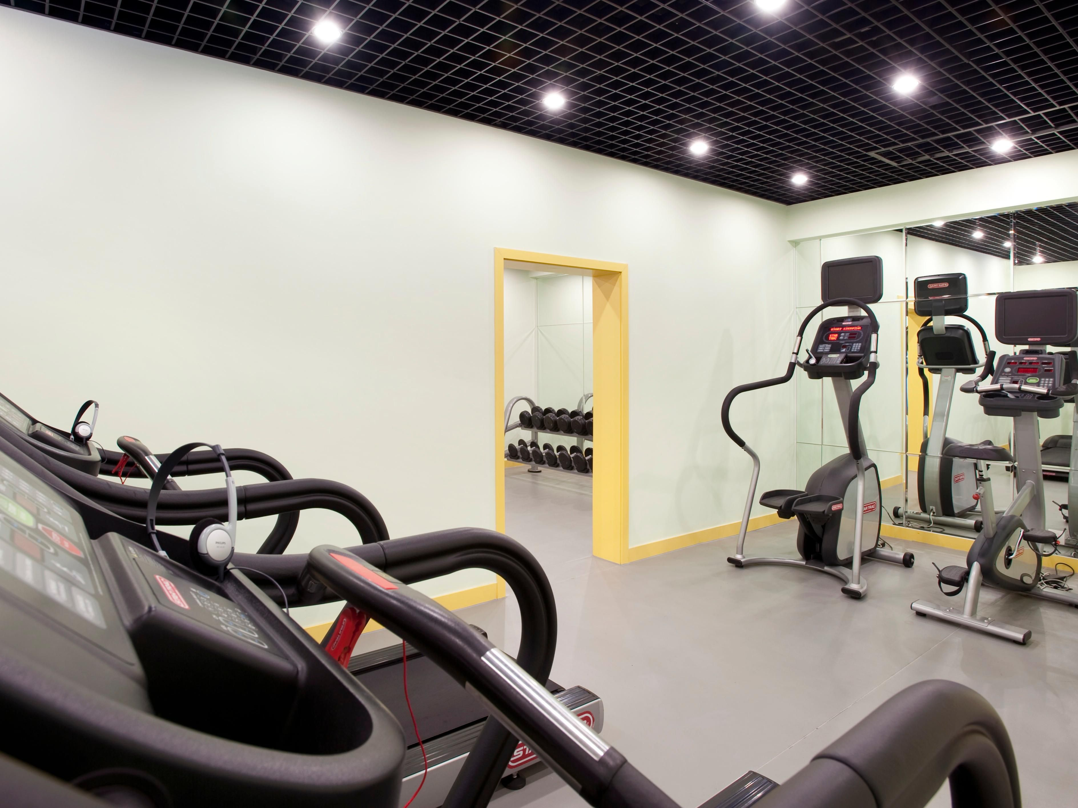 Well-equipped Gym Room