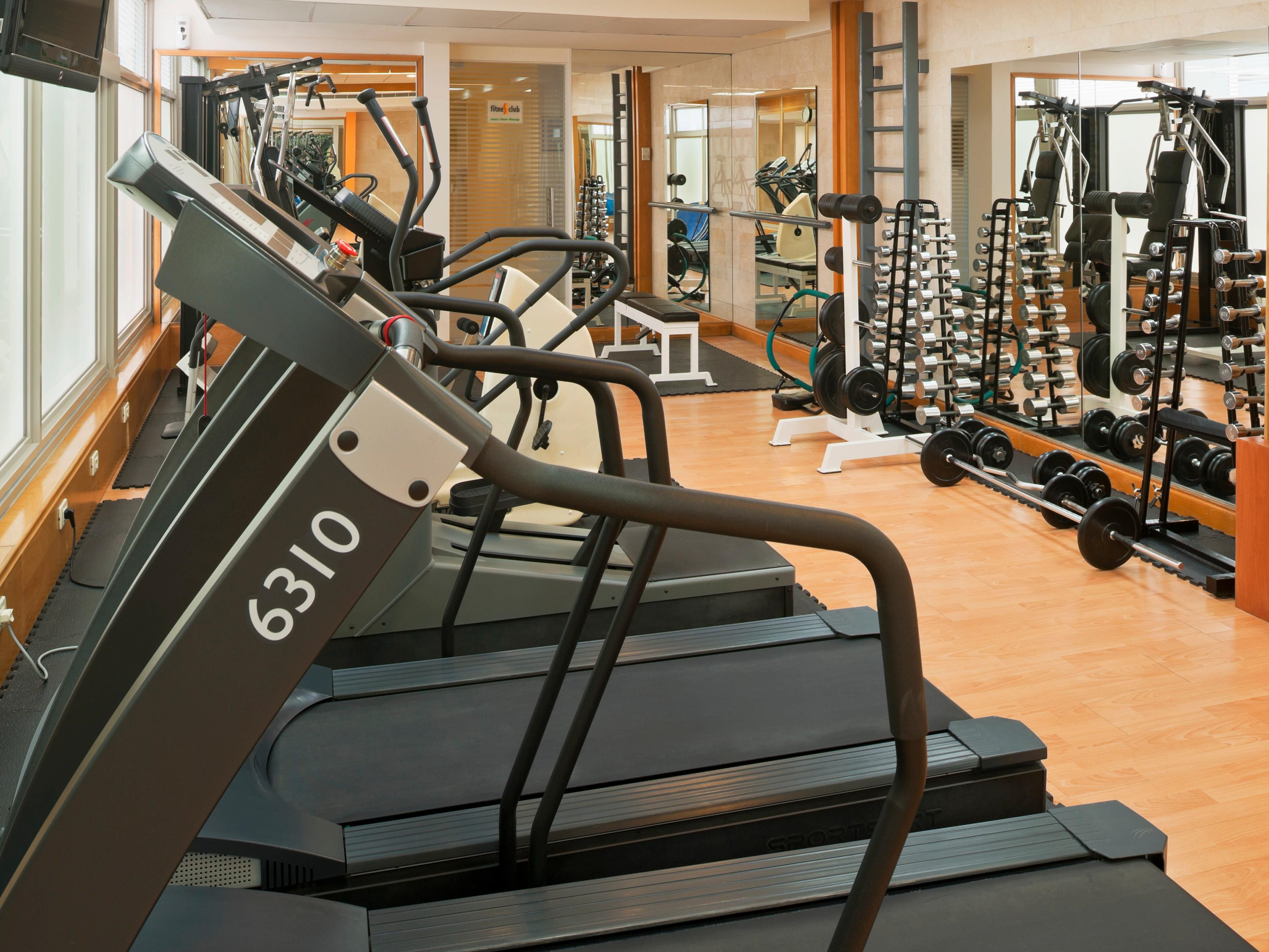 Stay in shape with our latest cardiovascular machines.