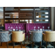 Luxurious bar and lounge area at Holiday Inn Belfast City Centre