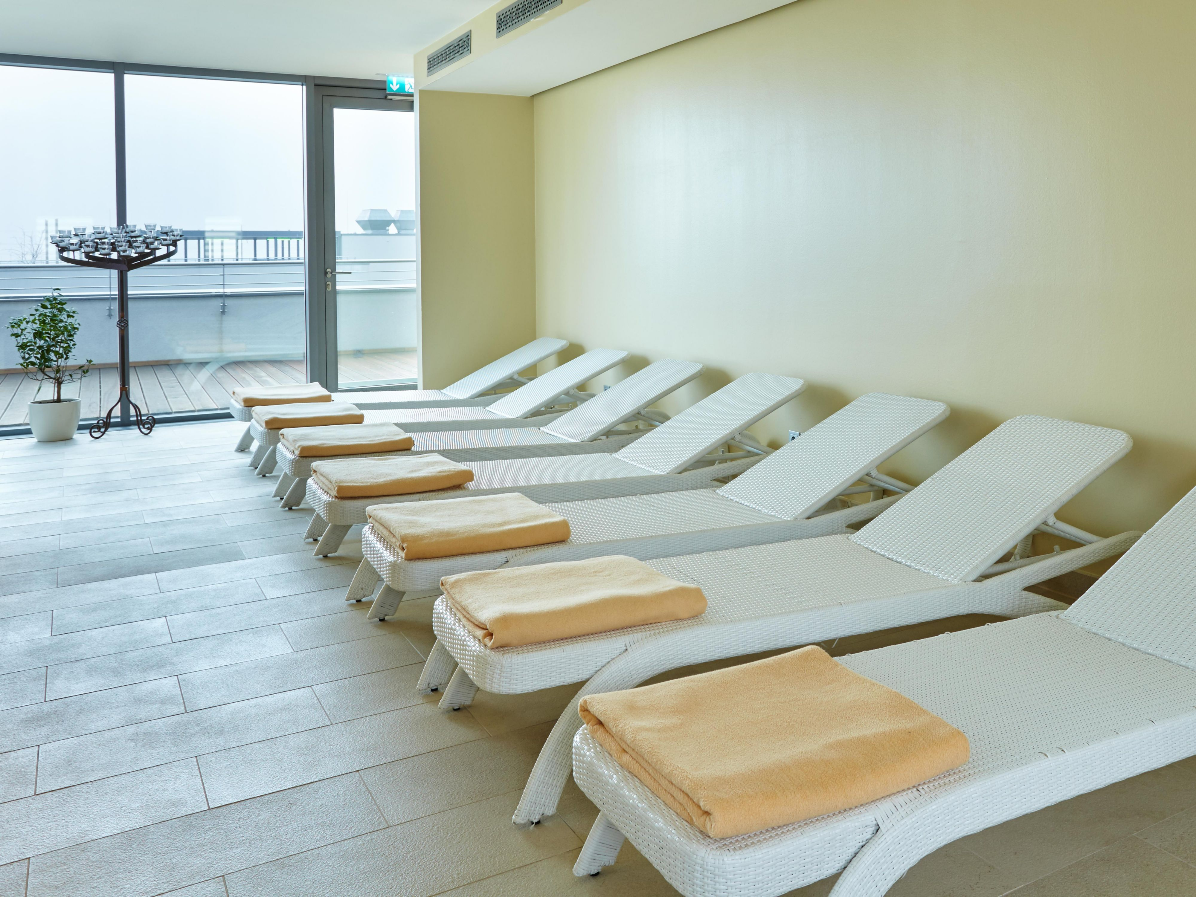 Enjoy a soothing moment in our Relaxation Room