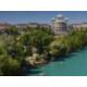 City Trip - Aare - River of Bern Urban Swimming