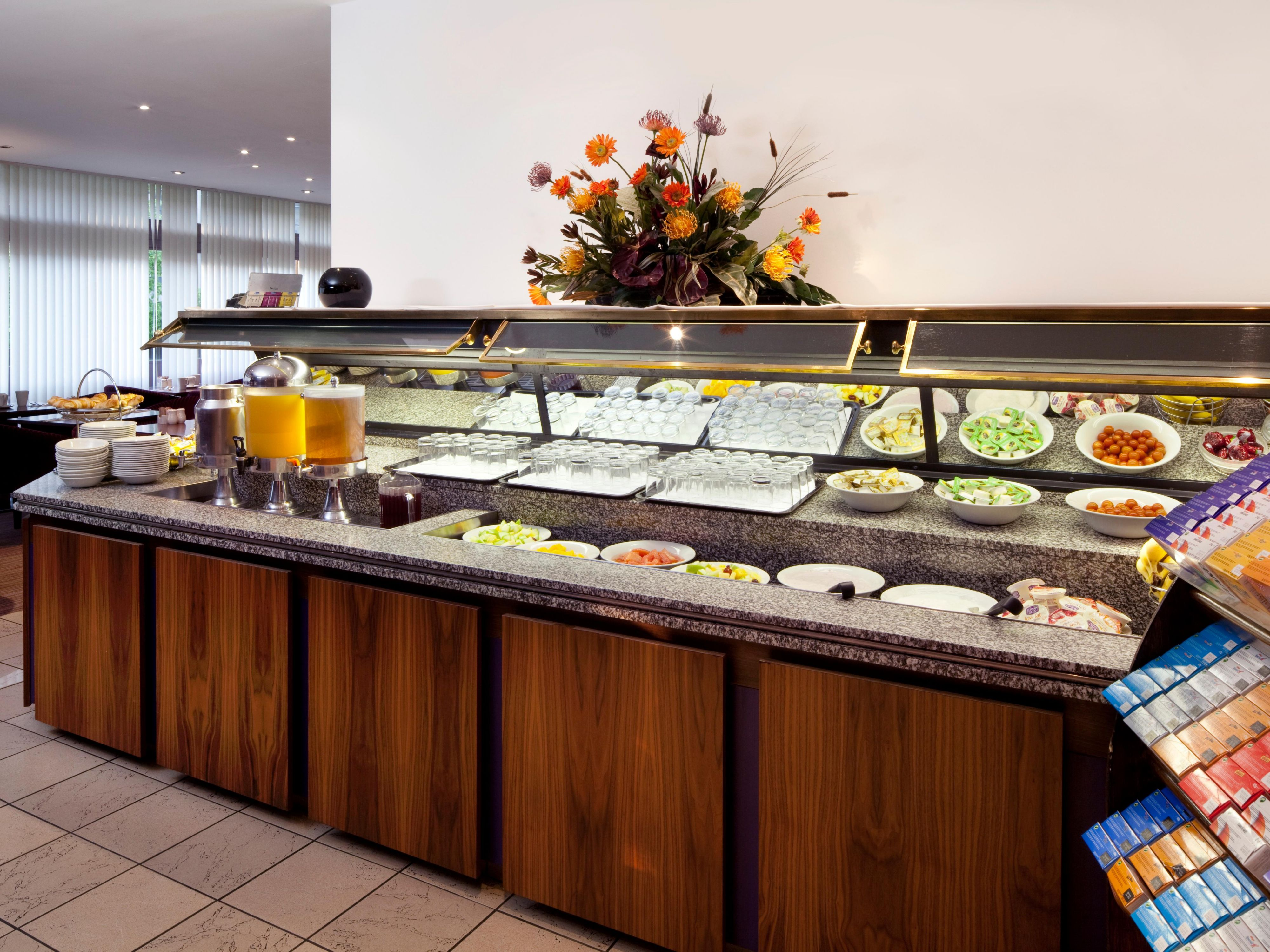 Full English Buffet Breakfast Available