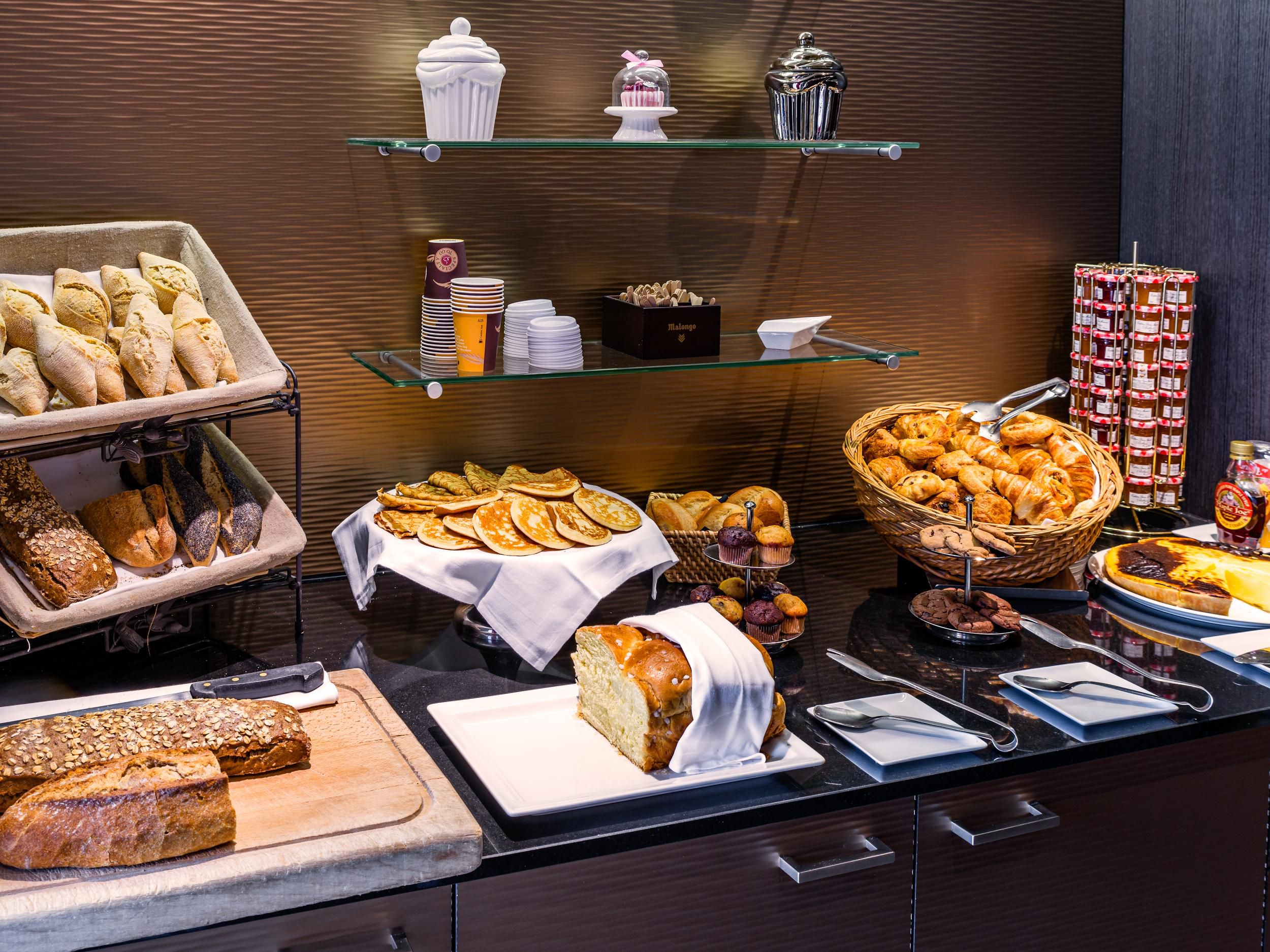 Try our breakfast bar!