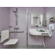 Convenient ADA/Wheelchair Accessible Transfer Shower