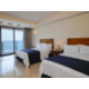 Two double beds ocean view tower balcony