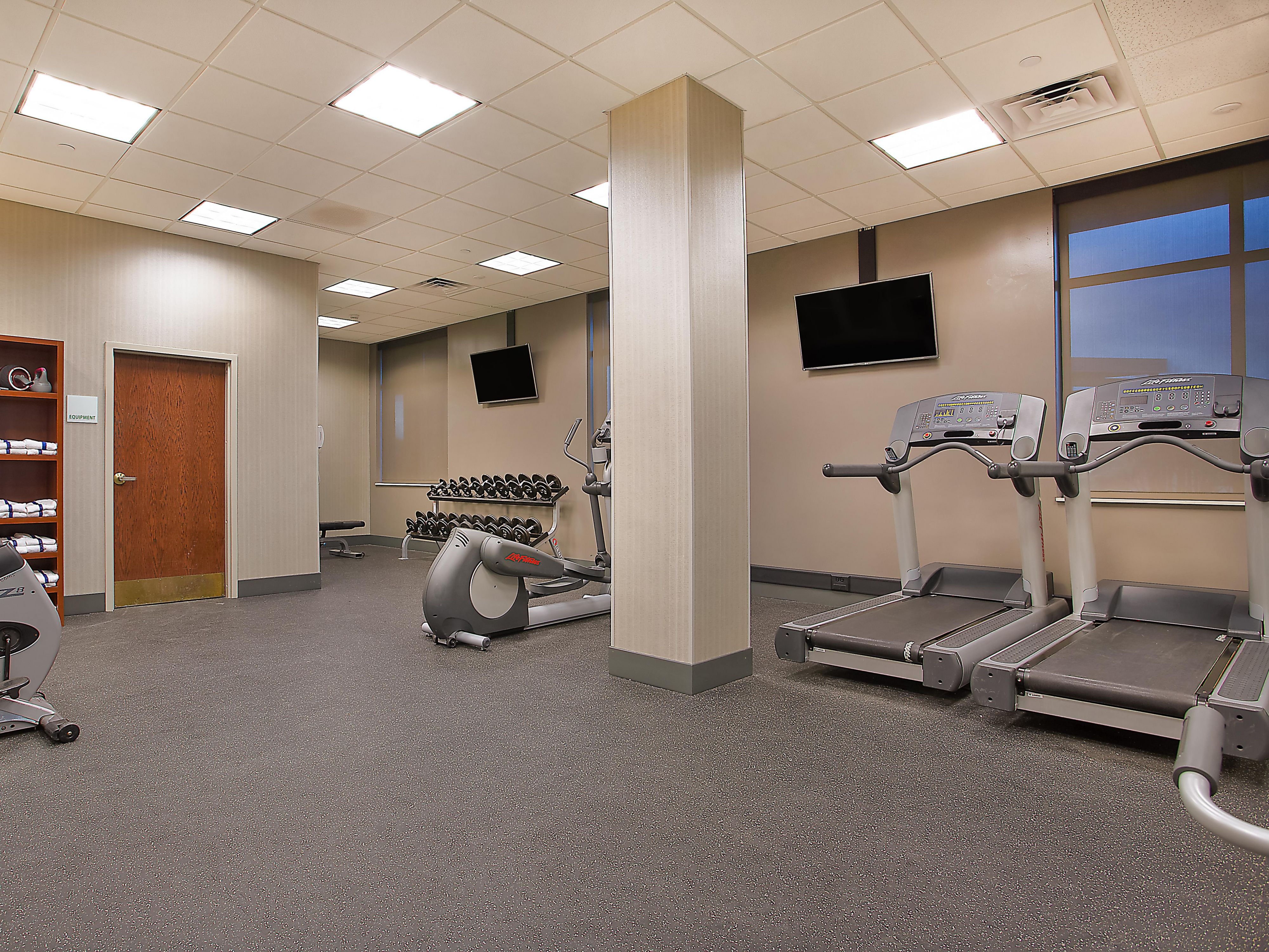 Workout in our expanded Fitness Center- Holiday Inn Bowling Green