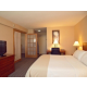 Two Room Executive Suite with King Bed, Sleeper Sofa, and Desk
