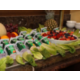 Part of the breakfast buffet - fresh fruit and yogurt