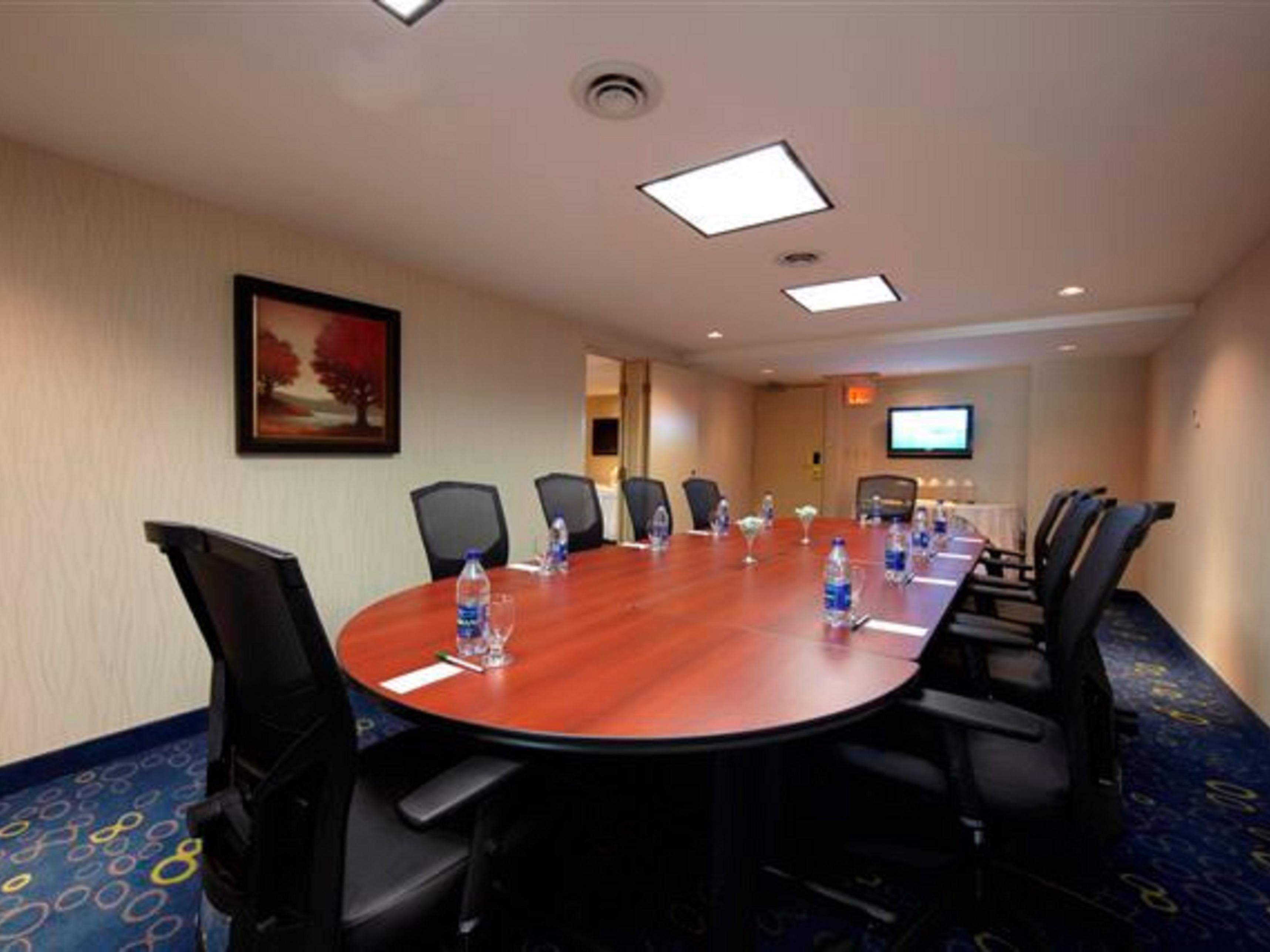 Ideal for smaller boardroom meetings