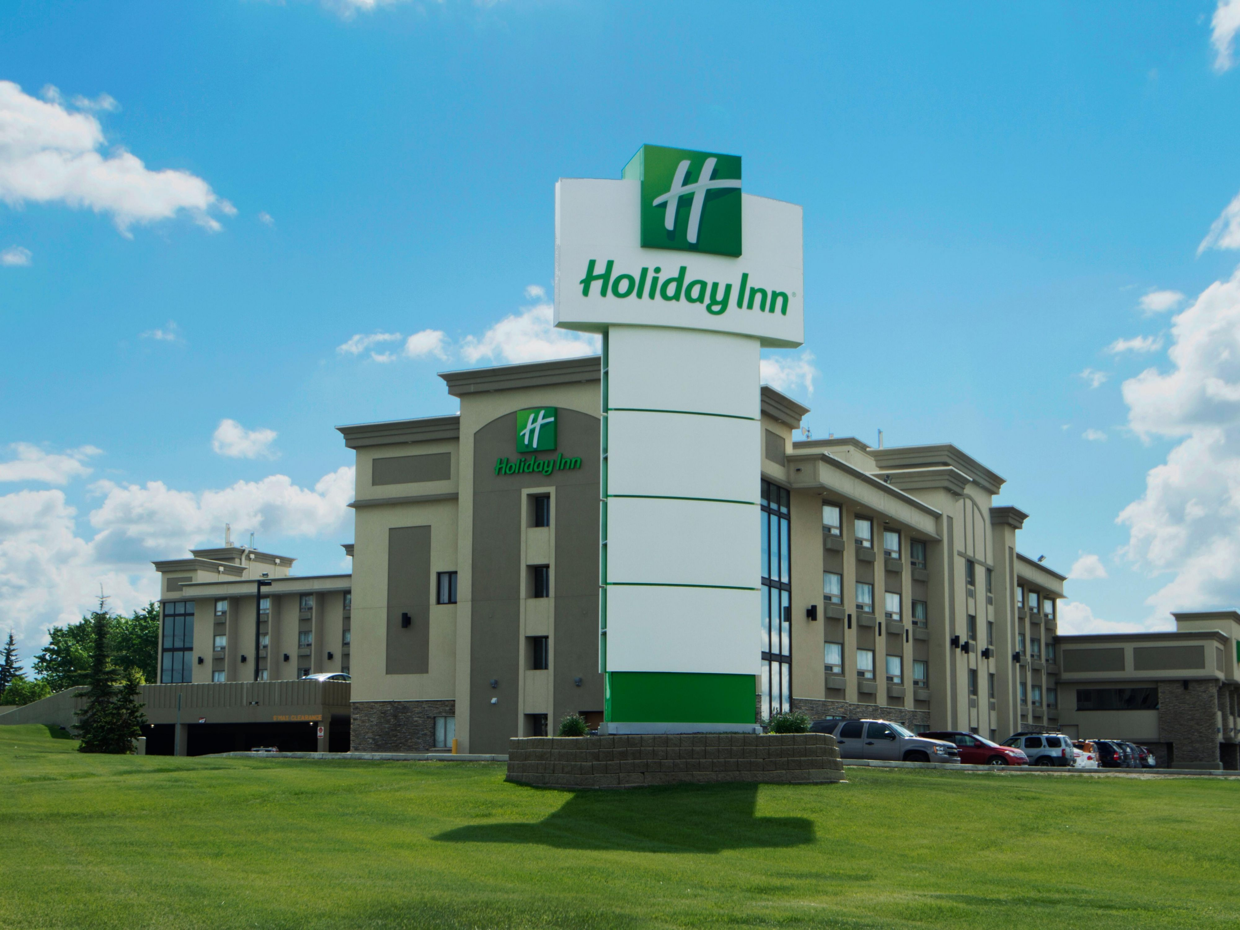 Welcome to the Holiday Inn Calgary Airport