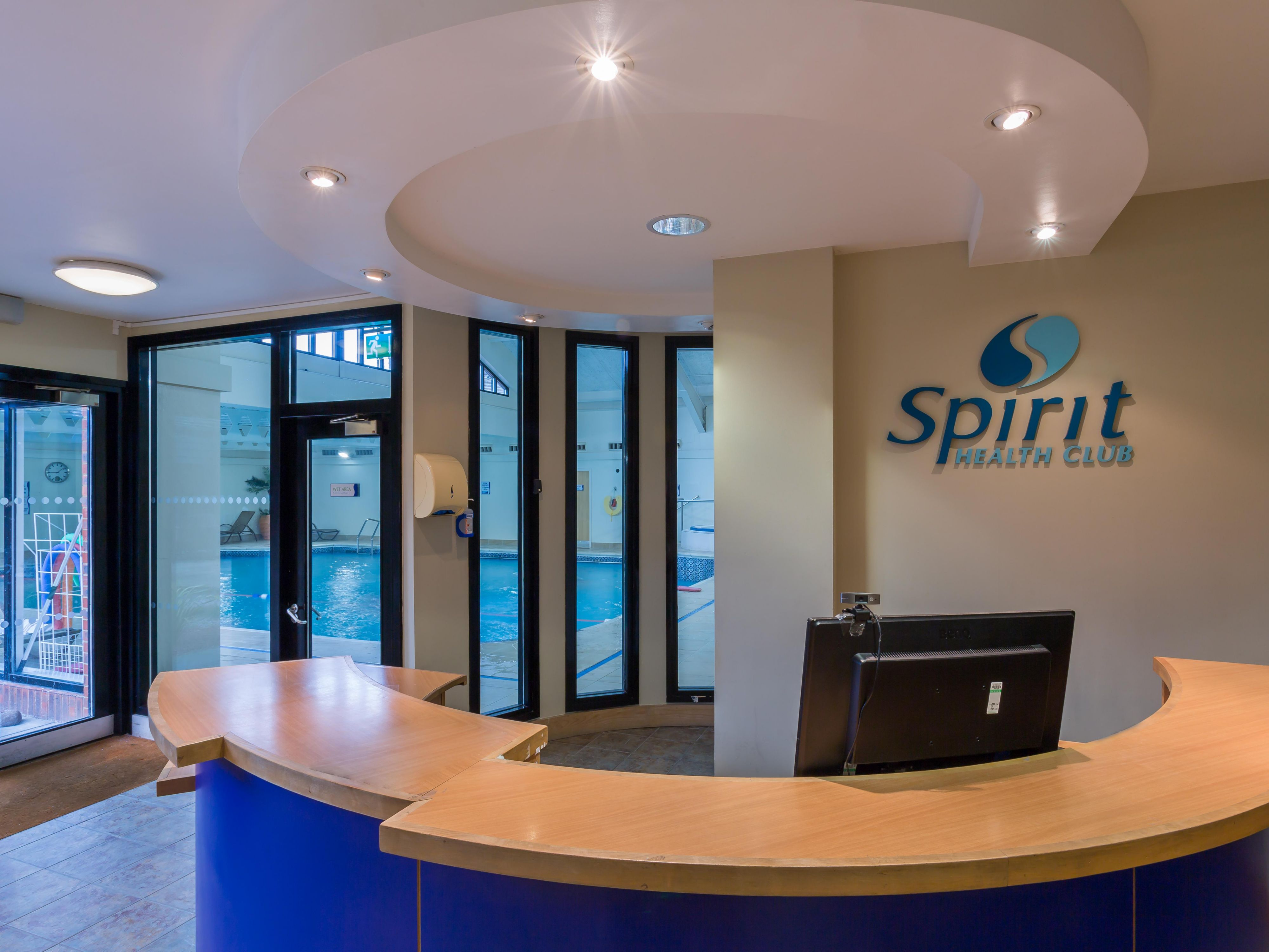 Check in at the Spirit Health Club