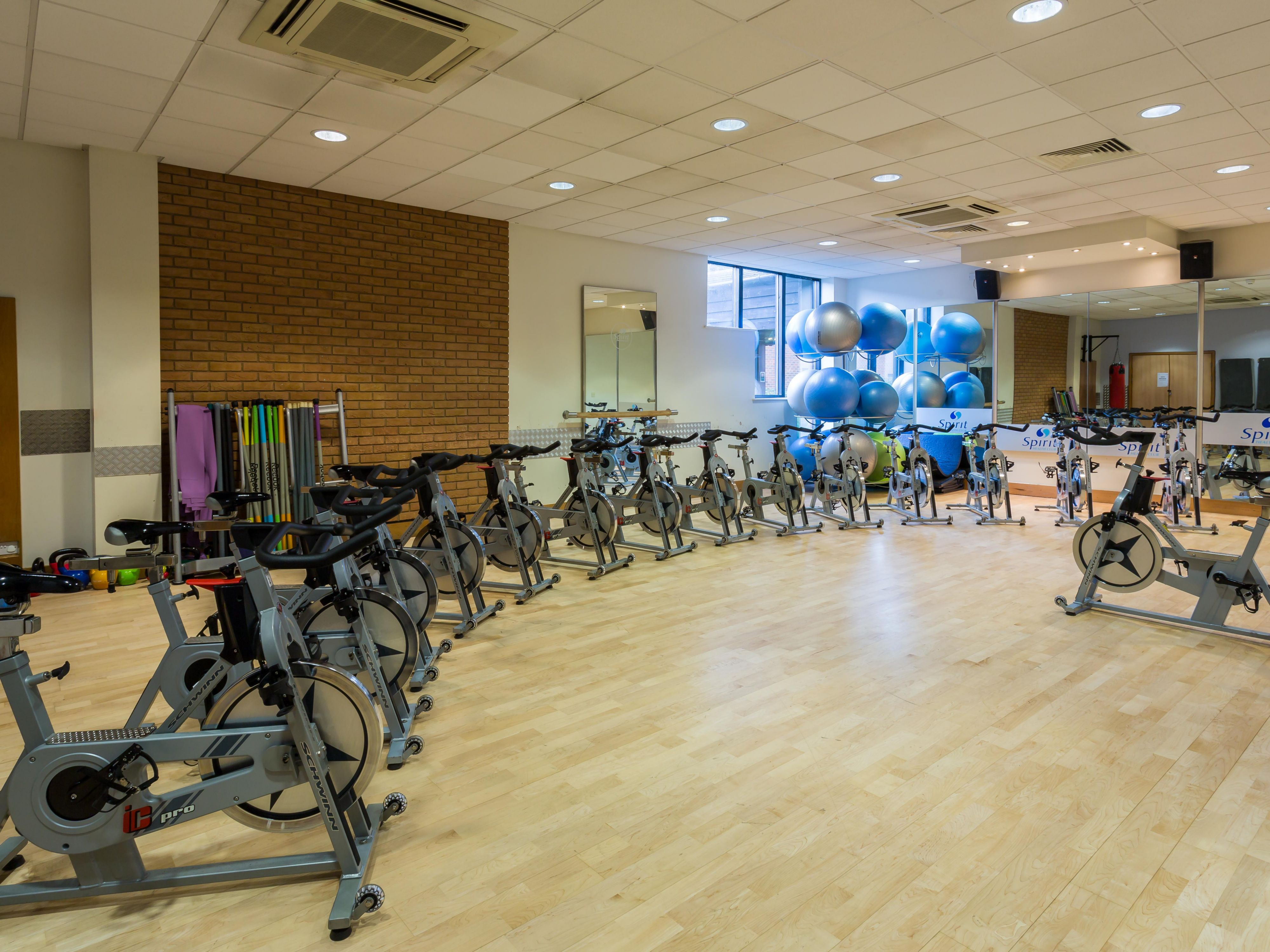 Stay in shape at our Fitness Studio