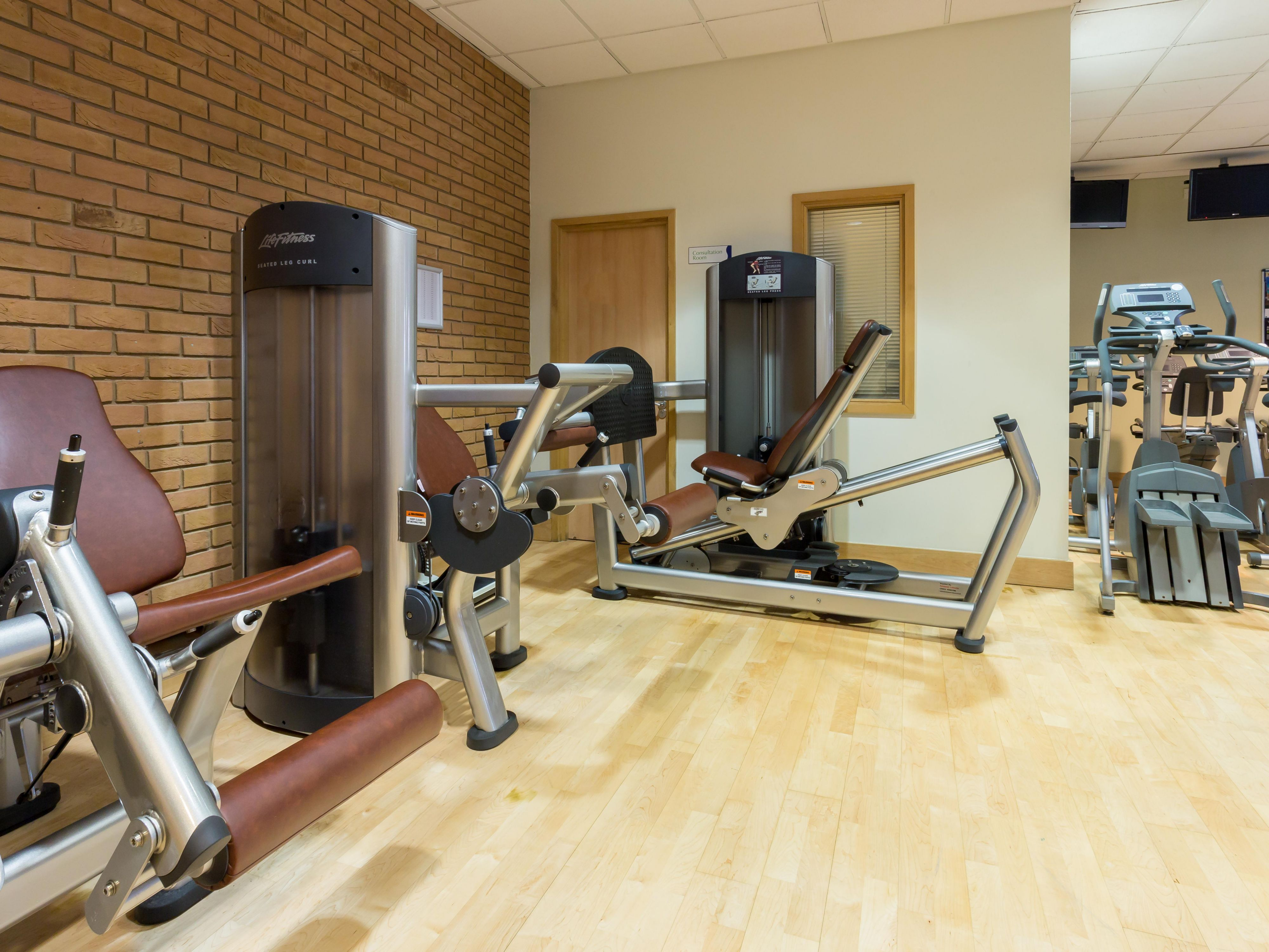 Work out in our state of the art Fitness Centre