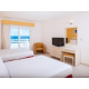 Two double beds ocean view
