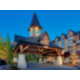 Summer hotel exterior. At the base of Silvertip Golf!