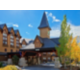 Hotel Exterior. Stay in Canmore and save on Park fees