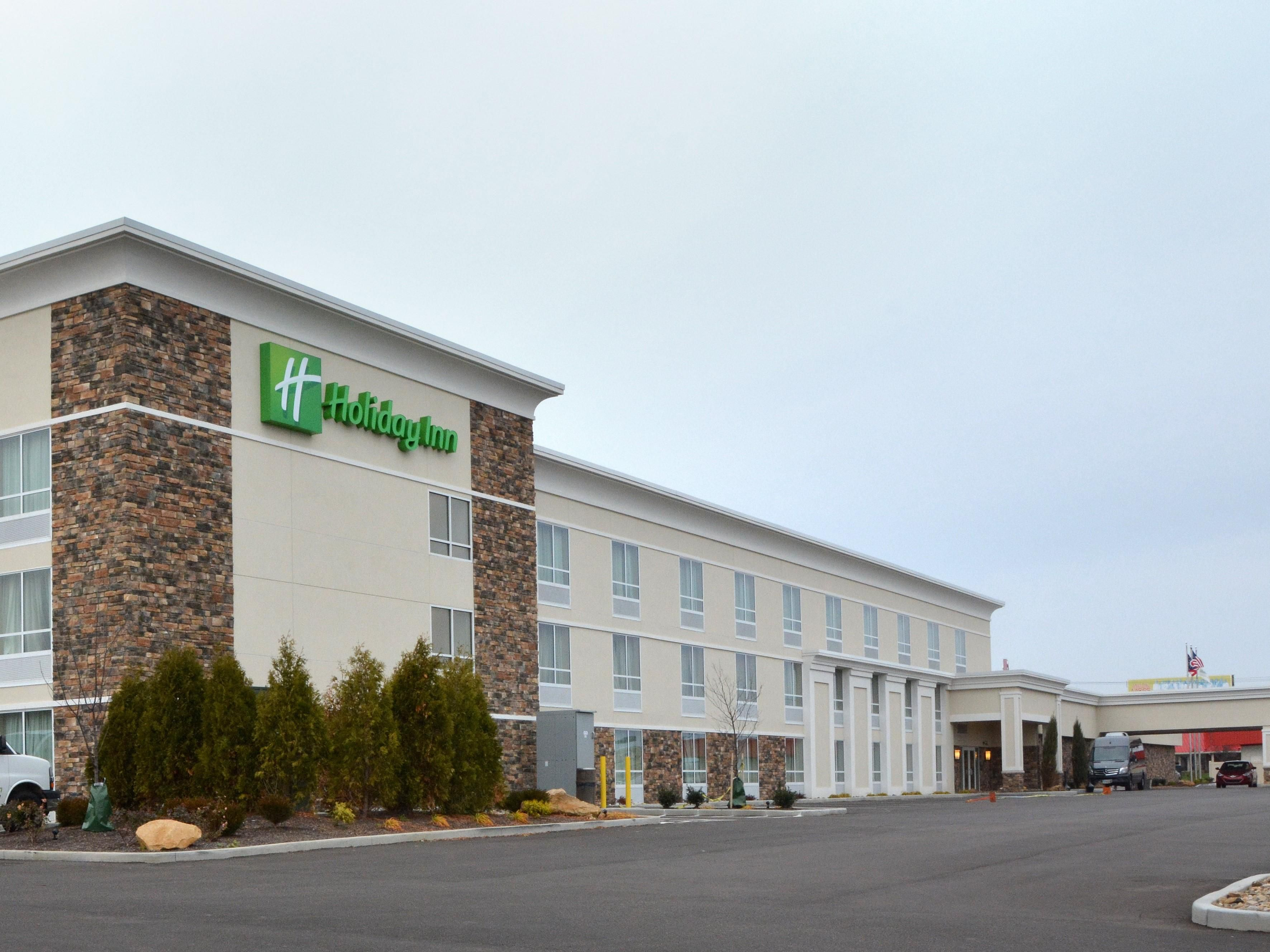 Newly Renovated Holiday Inn Exterior