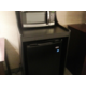 Enjoy the convenience of an in-room microwave and refrigerator.