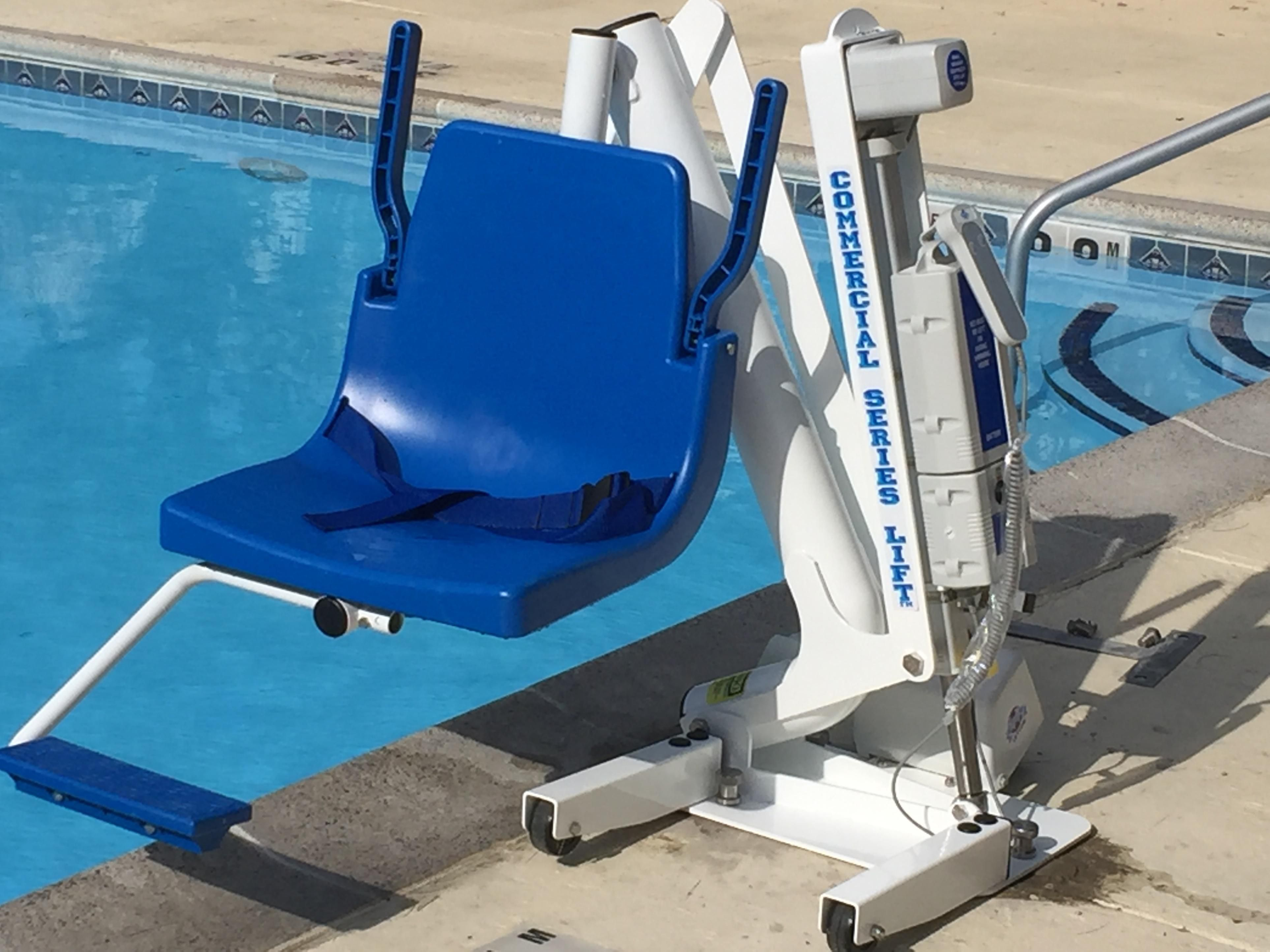 ADA Pool Lift Available