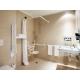 Bagno camera per disabili