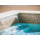 Outdoor Heated Pool Features Two Waterfalls - So Soothing!