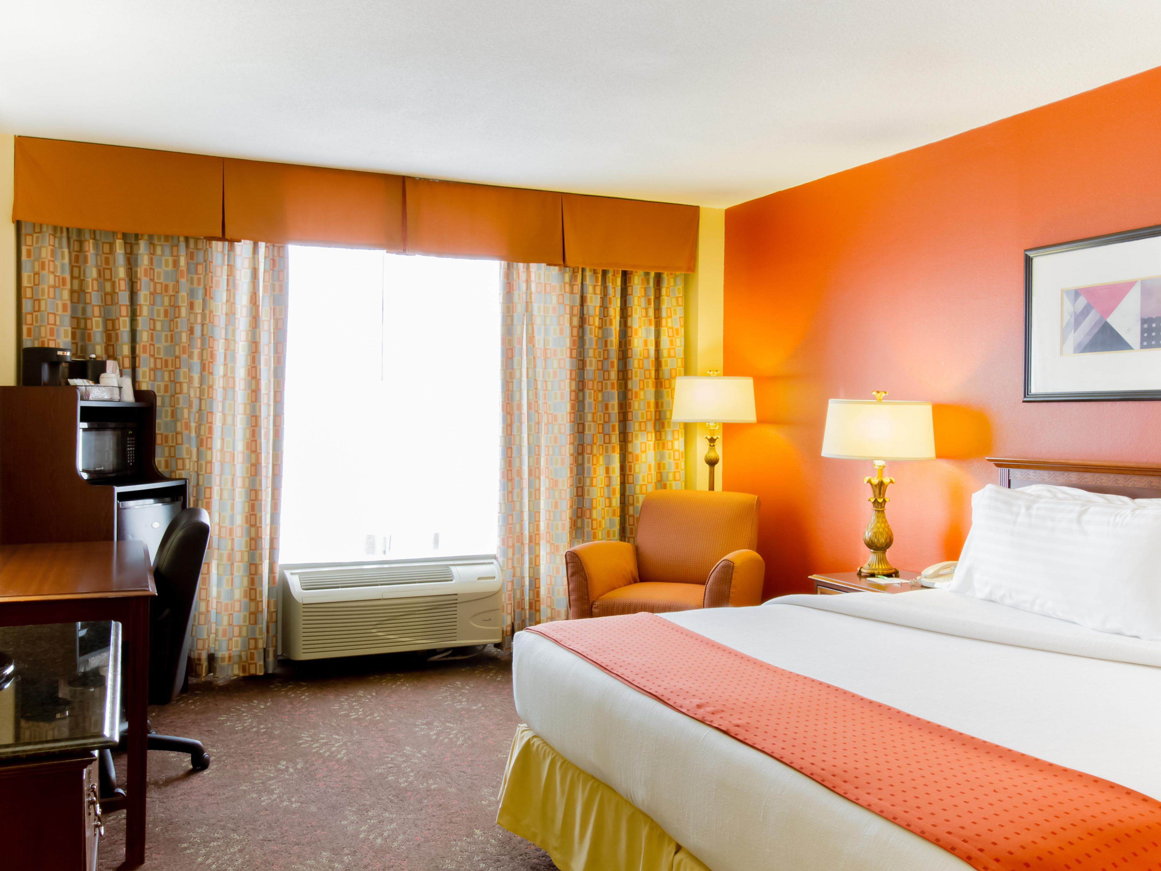 King Bed Executive Guest Room at Holiday Inn O'hare Airport Hotel