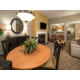 Spacious 2 bedroom villa with dining area