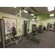 Fitness Center upper body workout