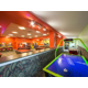 Enjoy air hockey, foosball, billiards and arcades in the game room