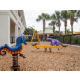 Outdoor playground for children to enjoy at the resort
