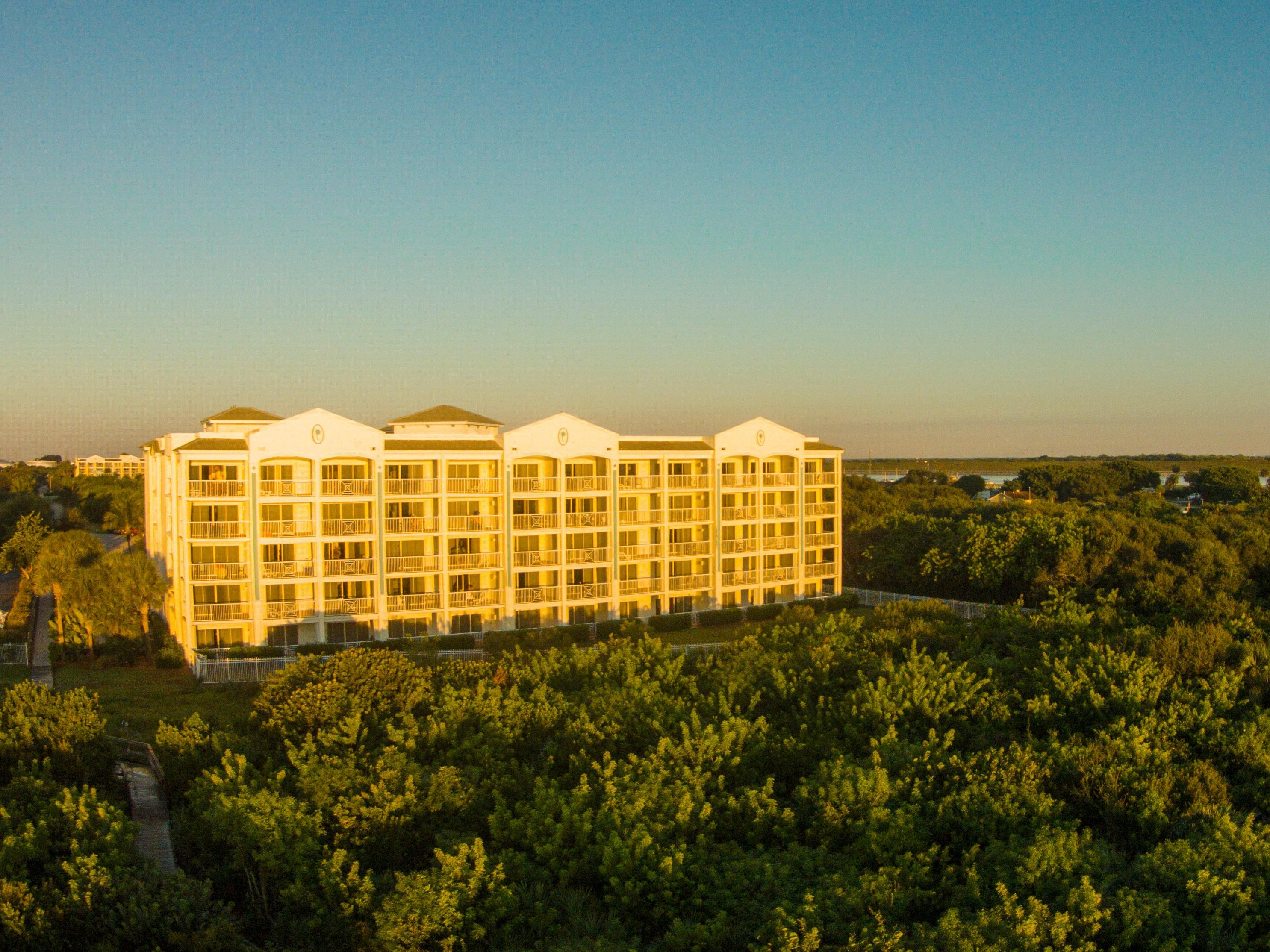 View of exterior building at Cape Canaveral Beach Resort