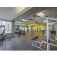Extensive fitness center for guests to use during your stay