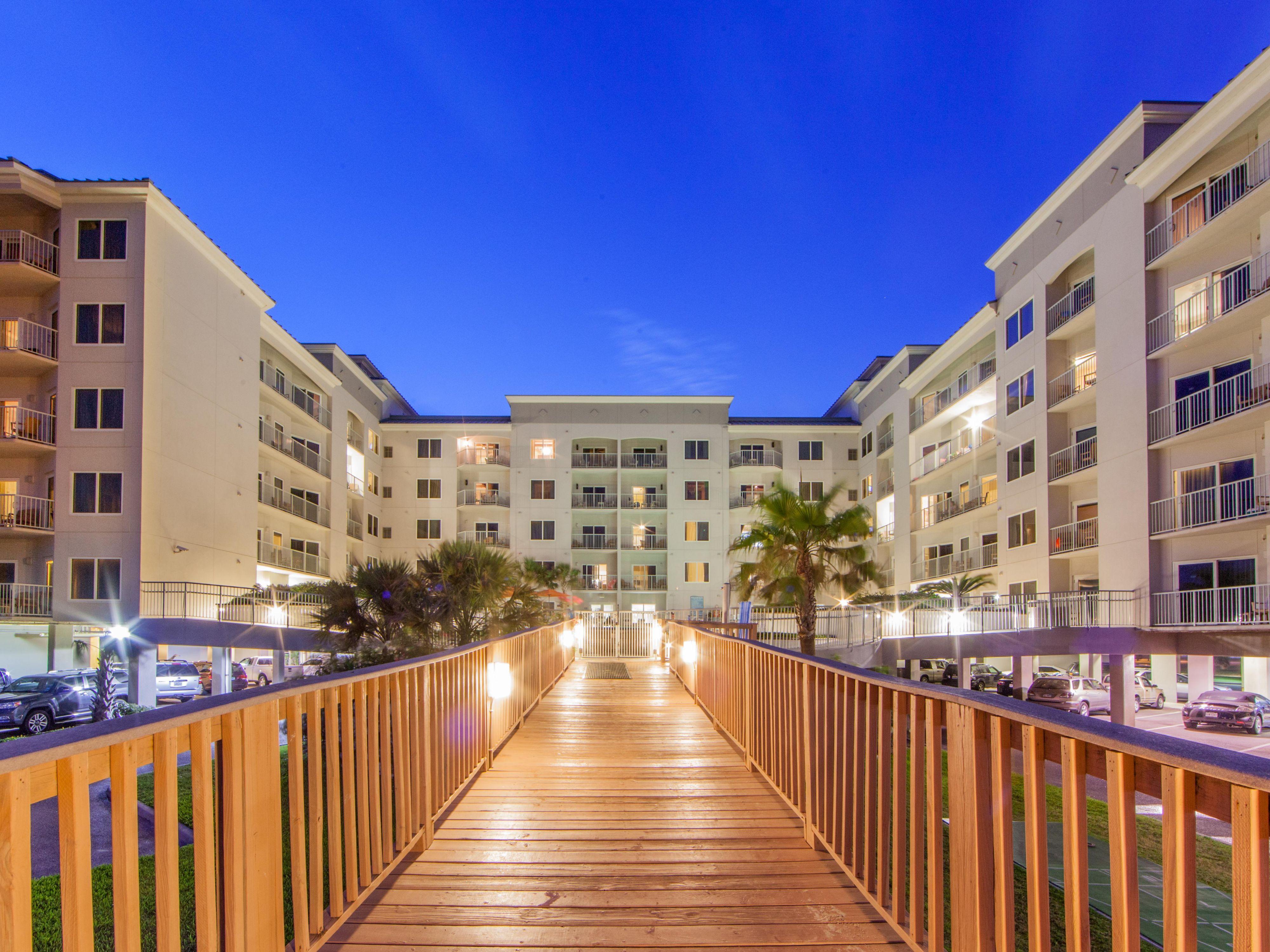 Galveston Beachfront Hotel and Resort  Holiday Inn Club