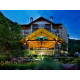 Entrance to beautiful Smoky Mountain Resort