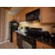 Fully equipped kitchen makes preparing meals easy