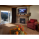 Enjoy the cozy comforts in the living room area