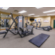Guests can enjoy working out in the complimentary fitness center