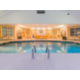 Enjoy swimming all year round in the indoor pool