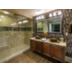 Private Signature bathroom with beautiful amenities