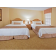 Enjoy 2 queen beds in the guest room with a full bathroom
