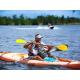 Kayaking fun on 80-acre lake