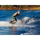 West Village water skiing on 80-acre lake
