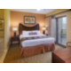 Enjoy a king size bed in the master bedroom with full bathroom