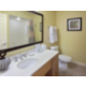Standard bathroom in a one-bedroom villa