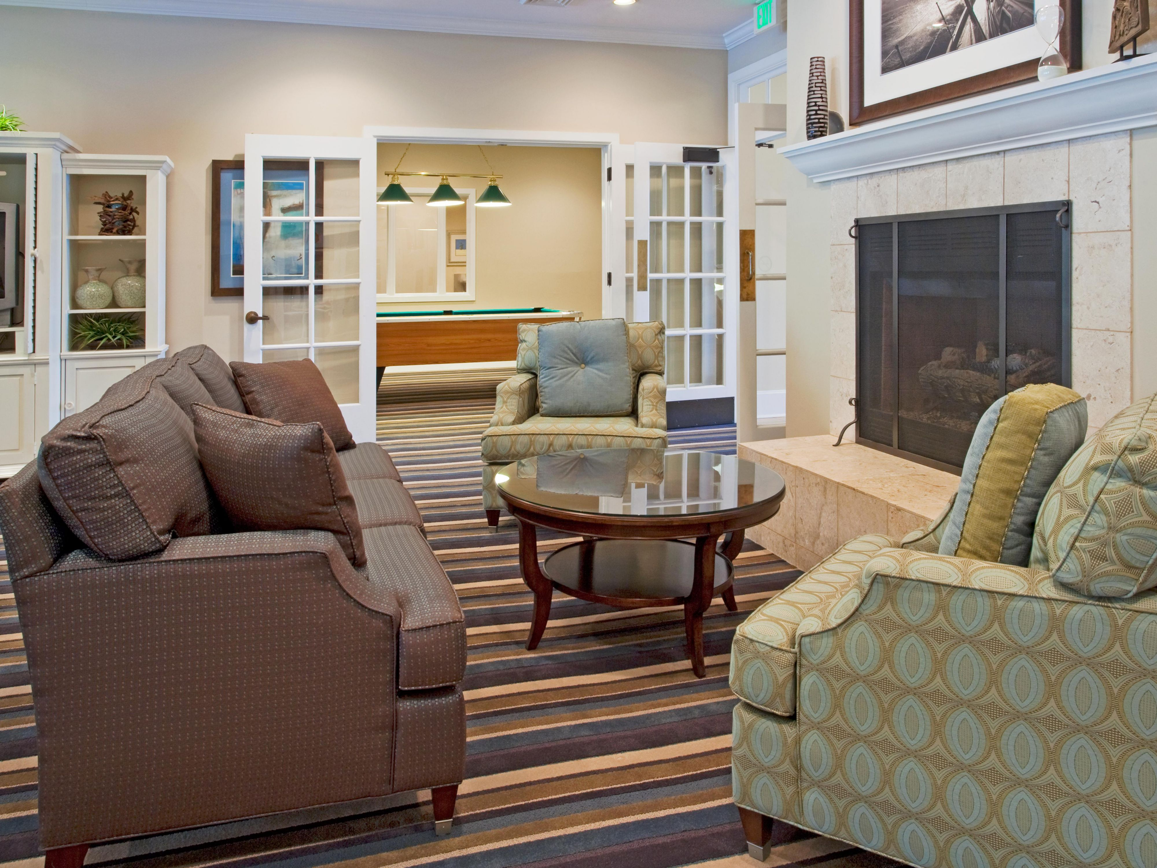 Lobby lounge where guests can relax and enjoy during their stay