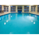 Guests can enjoy swimming all year long in the indoor pool