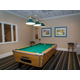 Play a round of pool with family and friends in the game room