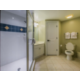 Private bathroom with stand-up shower in master, 1-bedroom villa